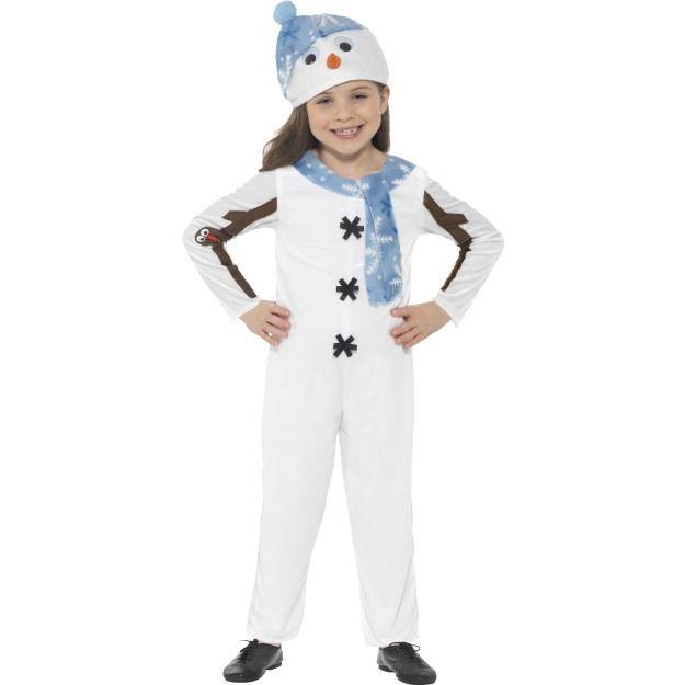 Dětský kostým - Sněhulák - S (85-B) Smiffys.com