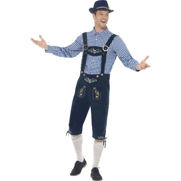 Kostým Bavorský muž Smiffys