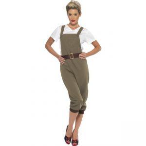 Kostým - Válečná vesnická dívka -  WW2 - M