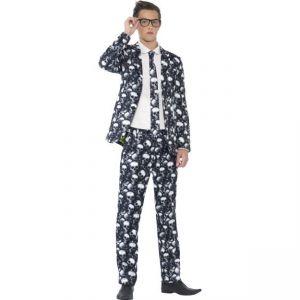 Kostým - Oblek - Lebky - S