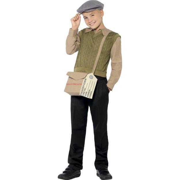 Dětský kostým - Evakuovaný chlapec - M Smiffys.com
