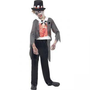 Dětský kostým - Zombie - ženich - M