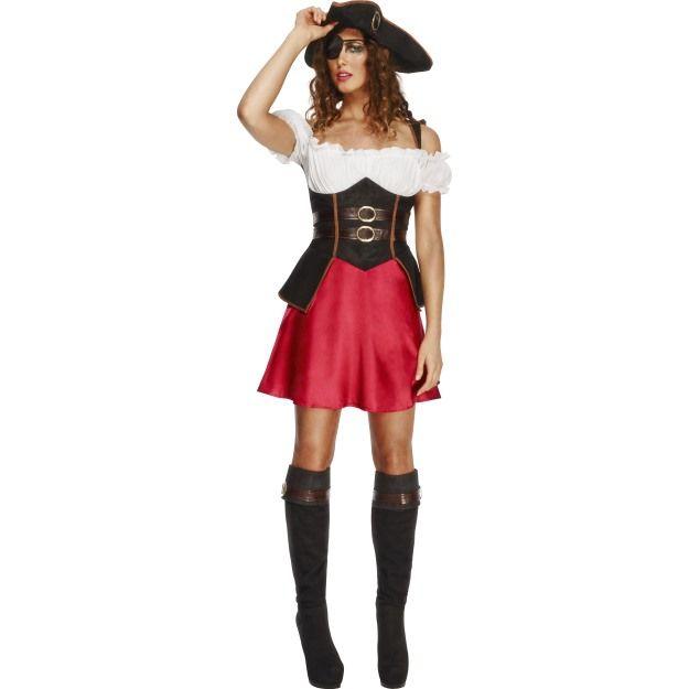 Kostým - Sexy pirátka - M (88-C) Smiffys.com