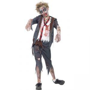 Dětský kostým - Zombie - školák - L