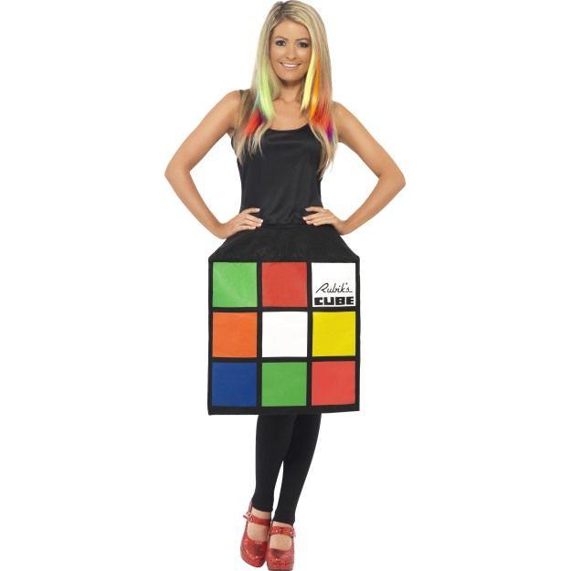 Kostým - Rubikova kostka - M (88-C) Smiffys.com