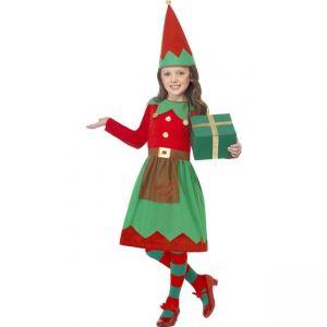 Dětský kostým - Malá Santova pomocnice - M