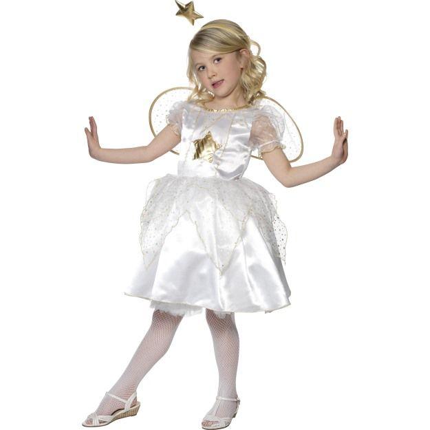Dětský kostým - Anděl - Víla - L (85-F, 124) Smiffys.com