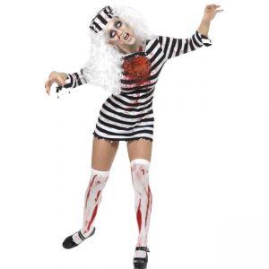 Kostým - Zombie - vězenkyně - M