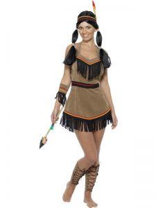 Kostým - Indiánská princezna - S (87-D)