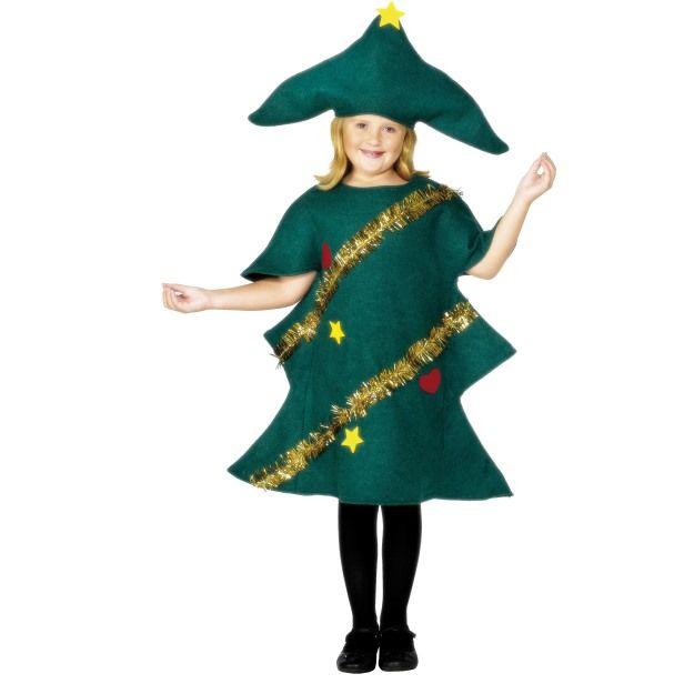 Dětský kostým - Vánoční stromeček - M (85-C) Smiffys.com