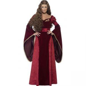Kostým - Středověká královna - L