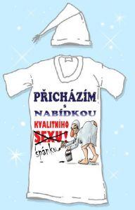 Košile na spaní  - Přicházím s nabídkou - XXL (17-I)