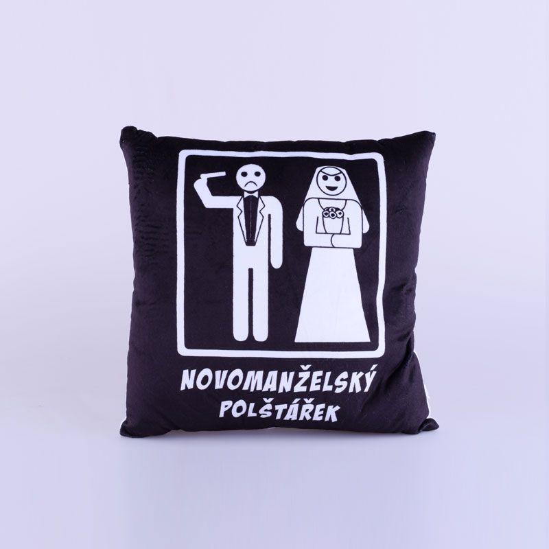 Polštářek - Novomanželský (18-C) Divja