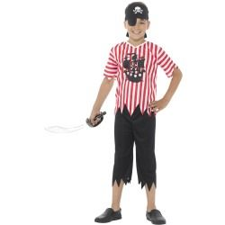 Dětský kostým - Pirát - M (86-D) Smiffys