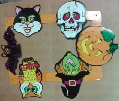 Gerlanda halloween - barevná (11,124) Smiffys.com