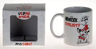 Hrnek cyklisty (73-F) ptakoviny.cz