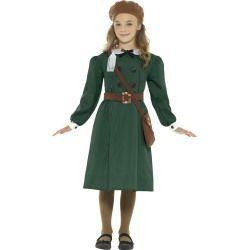 Dětský kostým - Evakuovaná dívka - M