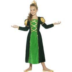 Dětský kostým - Středověká princezna - L (85-F)