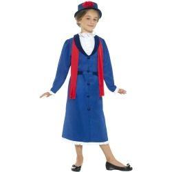 Dětský kostým Viktoriánská chůva - S Smiffys