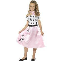 Dětský kostým - Dívka s pudlíkem - M (85-D)