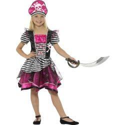 Dětský kostým - Pirátka - L