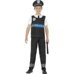 Dětský kostým - Policajt - M (86-D)
