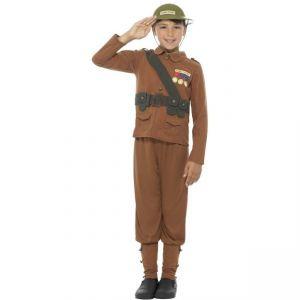 Dětský kostým Horrible Histories voják - M