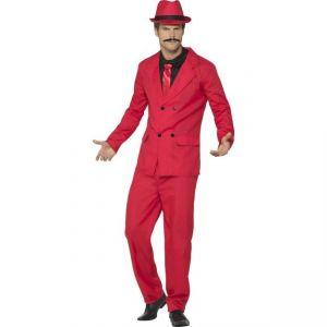 Kostým - Červený gangster - M (100)