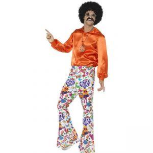 Kalhoty - Hipís - barevné L (103)