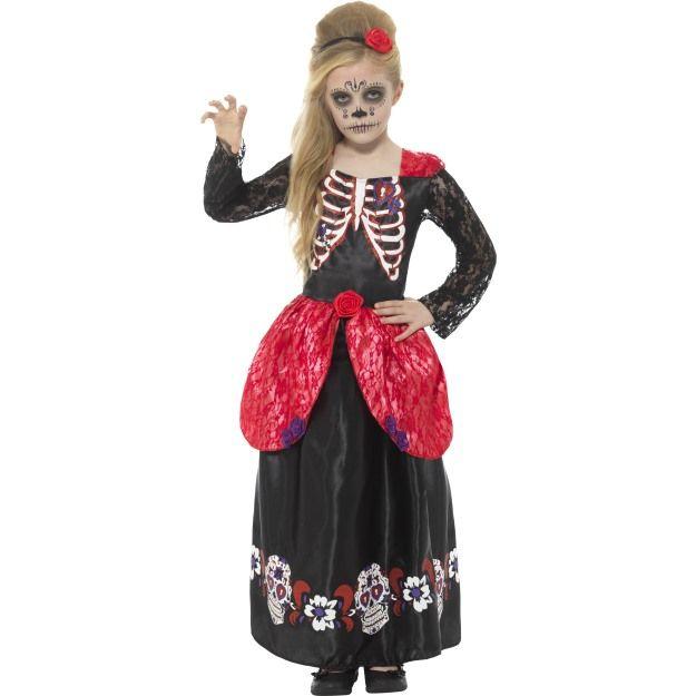 Dětský kostým - Den mrtvých - S (85-B) Smiffys.com