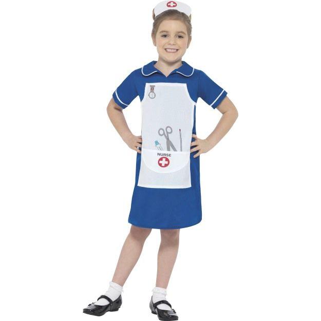 Dětský kostým - Zdravotní sestřička - L Smiffys.com deb3d58f4cf