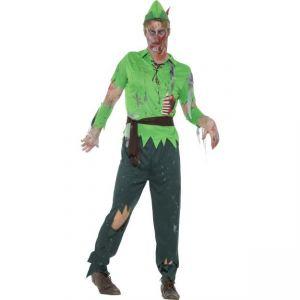 Kostým - Zombie Lesní muž - L
