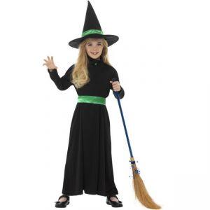 Dětský kostým - Čarodějnice - S (85-B)