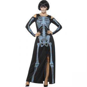Kostým - Kostlivka šaty - S (87-E)