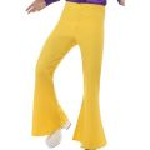 Kalhoty - Hipís - žluté - XL (84-C)