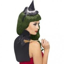 Sada čarodějnice mini,klobouček,plášť (54) Smiffys.com