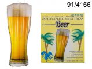 Lehátko nafukovací - pivo 180cm (25E)