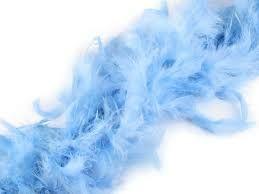 Boa - světle modré 80gr (16-H,G) Smiffys