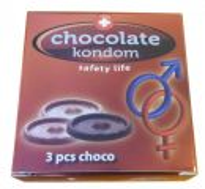 Čokoládové kondomy , 20g (74-H)