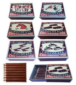 Čokoládové sirky v krabičce , 22g (74-H)