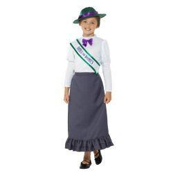 Dětský kostým - Viktoriánská dívka - S