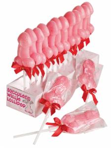 Lízátko pinďa 35g - růžové   (74-G)