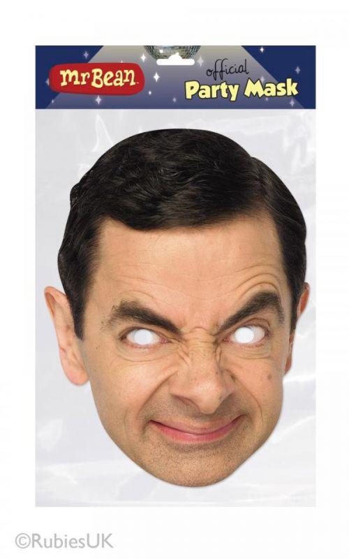 Maska papírová - Mr. Bean joke21