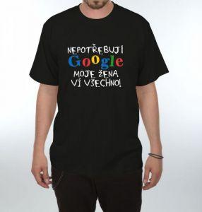 Tričko - Google - XL