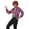 Košile - Hipís, pánská - 60 léta - M