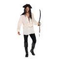 Kostým - Pirátská košile - pánská, bílá - XL (105)