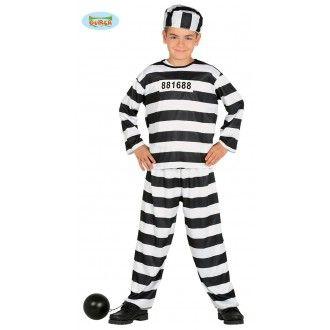 Dětský kostým - Vězeň - M (86-C) Dreck