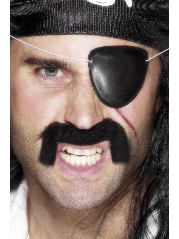 Klapka na oko pirátská , 1 kus (78I-) Smiffys.com