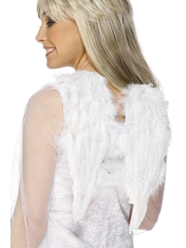 Křídla anděl chlupatá 30x40cm (107) Smiffys.com