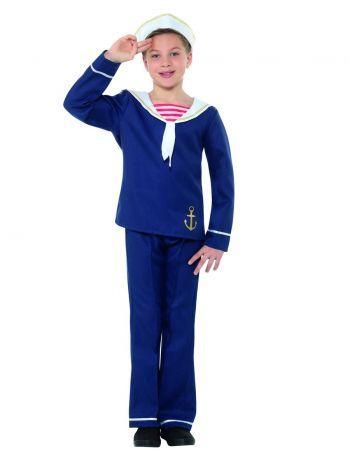 Dětský kostým - Námořník - L (86) Smiffys.com